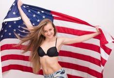 American fan stock photography