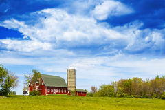 American Farm Royalty Free Stock Photography