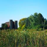 American farm landscape Stock Image