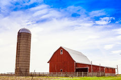 American Farmland Royalty Free Stock Images