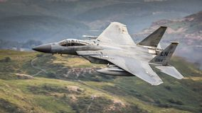 American Fighter Jet F15 royalty free stock image