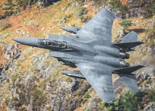 American Fighter Jet F15 Royalty Free Stock Images