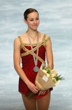 American figure skater Kimmie  Stock Photography