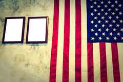 American ( Filtered image processed vintage effect. ) Stock Photography