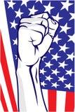 American fist Stock Image