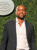 American fitness trainer, TV personality and choreographer Shaun T attends the 2016 US Open Opening Night. NEW YORK - AUGUST 29, 2016: American fitness trainer Stock Image