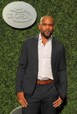 American fitness trainer, TV personality and choreographer Shaun T attends the 2016 US Open Opening Night. NEW YORK - AUGUST 29, 2016: American fitness trainer Royalty Free Stock Images