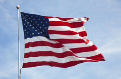 American flag 012 royalty free stock photo