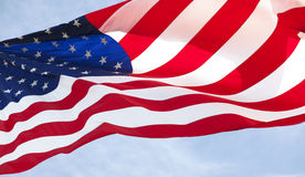 American flag 019 royalty free stock photos