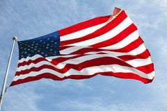American flag 022 stock photography