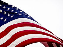 American flag. Stars and strips Stock Photos