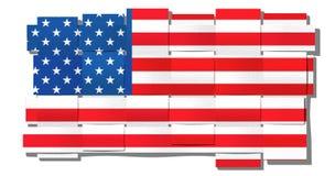 American flag. Mash Stock Photography