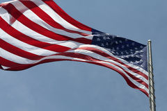 American Flag. Billowing American flag stock images