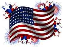 fireworks american flag stock photos images amp pictures