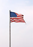 American flag. In the sky stock photos