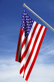 American Flag. With clipping path vector illustration