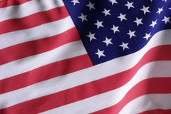 American flag. USA flag Stock Photo