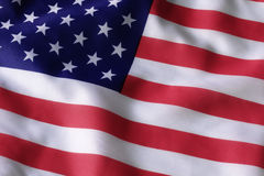 American flag. Usa flag stars stripes red white Stock Photos