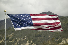 An American flag Royalty Free Stock Photo