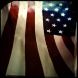 American flag Royalty Free Stock Photography