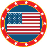American Flag 3 Royalty Free Stock Photos