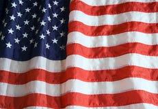 American Flag. Nylon American flag with lighting effect