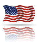 AMerican Flag. Flag of united states of america Royalty Free Stock Photo