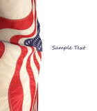 American flag. The american flag on background Stock Image