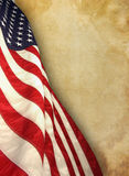 American flag. The american flag on background Royalty Free Stock Photography