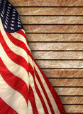 American flag. The american flag on background Stock Photo
