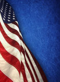 American flag. The american flag on background Royalty Free Stock Photo
