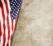 American flag. The american flag on the background Stock Photos