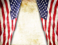 American flag. The american flag on the background Stock Image