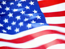 American flag 4 Stock Images