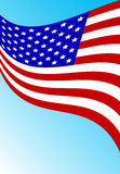 American flag. This image is a vector illustration and can be scaled to any size without loss of resolution. This image will download as a .eps file. You will Stock Photos