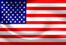 American flag Stock Image