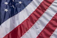 American Flag. Old Glory - Red, White and Blue.  American Flag Stock Photography