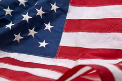 American flag. Flag of United State of America Royalty Free Stock Photo