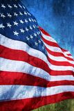 American flag abstract Stock Photo