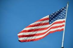 American Flag in Portland, Oregon Stock Photo