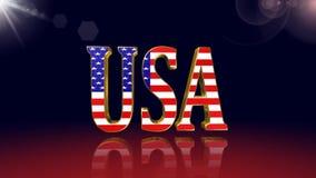 American flag ,animation. American flag ,best american flag animation stock footage