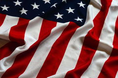 American Flag as background Royalty Free Stock Images