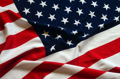 American Flag as background Stock Images