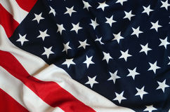 American Flag as background Royalty Free Stock Photo