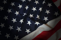 American Flag as background Royalty Free Stock Photography