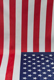 American flag as photographic backdrop Stock Images