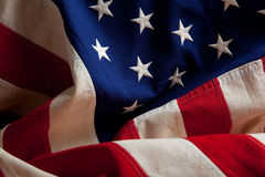 An american flag background Stock Photography
