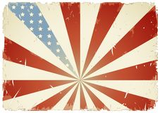 American flag background royalty free illustration