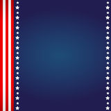 American Flag Background Royalty Free Stock Images