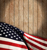 American flag. The american flag on the background Stock Photo